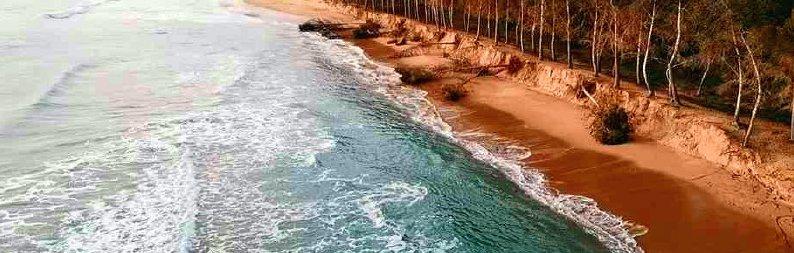 Eraclea, la spiaggia non c'è più