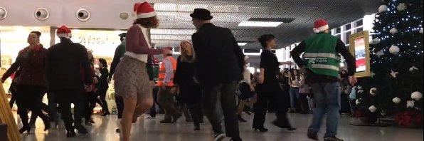 Fontanarossa, flash mob al volo