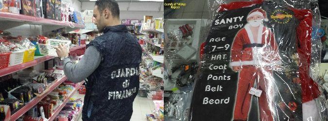 Stop ai bazar della contraffazione