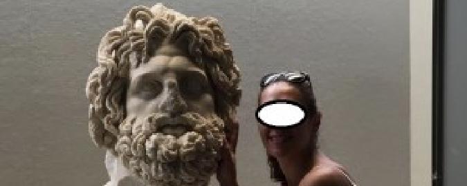 Faccio un selfie con Zeus