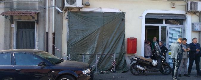"""La protesta a San Giovanni Galermo """"Abbiamo Poste da terzo mondo"""""""