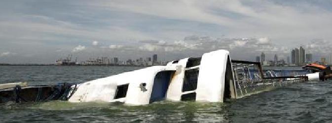 Affonda traghetto nelle Filippine