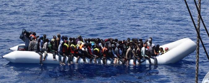 Muore migrante nel Canale di Sicilia