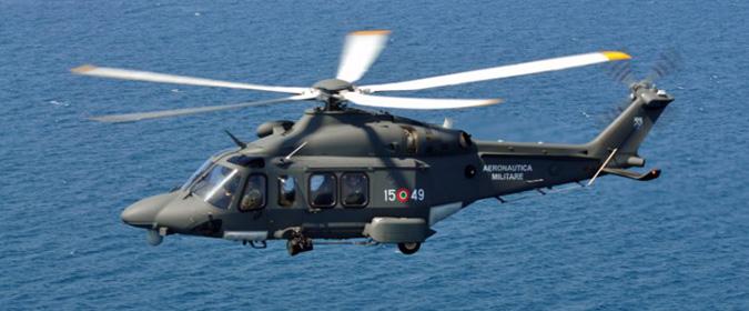 Forte mare in burrasca, anziana malata in elicottero da Panarea a Messina