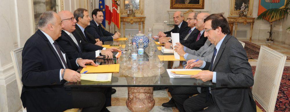 Musumeci incontra i rettori siciliani