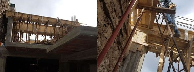 Catania, sequestrato cantiere pericoloso