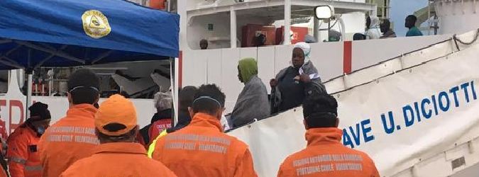 A Catania le salme di 8 migranti