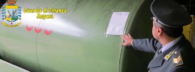 Impianto abusivo di gasolio a Scicli