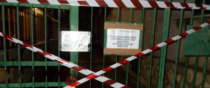 Carini, abusivi nell'immobile confiscato