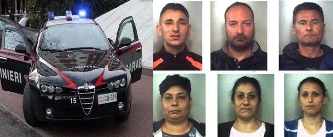 Furto nel deposito profumi: 6 arresti