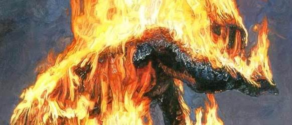 Matrimonio in crisi, uomo si dà fuoco