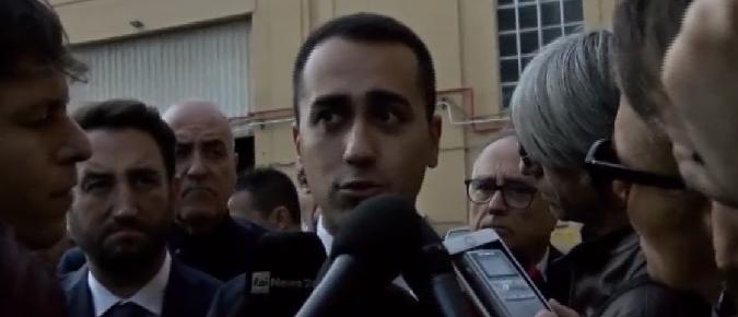 """Caso Corleone, Di Maio inflessibile """"Lo Stato non parla con la mafia"""""""