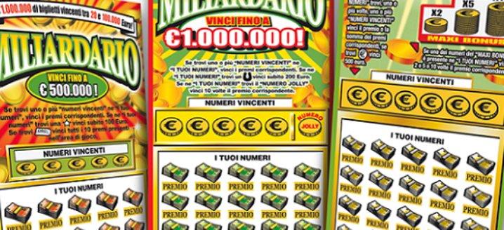 Mezzo milione con gratta e vinci da 20 €