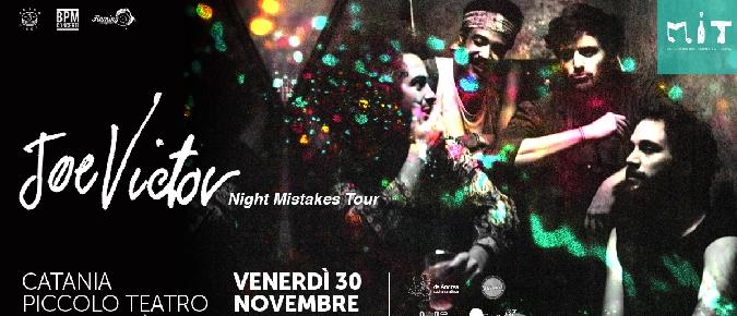 Catania, i Joe Victor al Piccolo Teatro