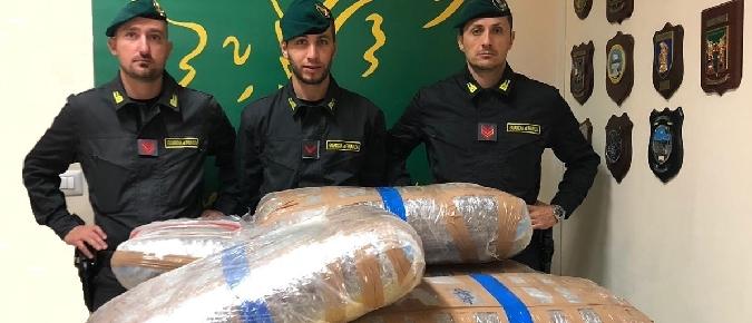 Inseguimento a Belpasso, scoperti 142 kg di droga$