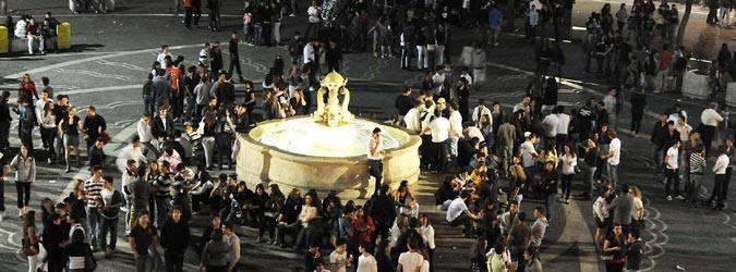 Movida senza regole, multe a Catania