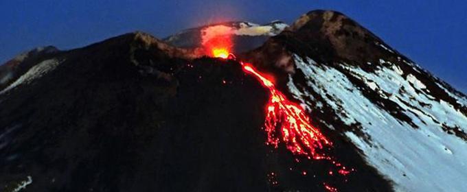 """""""Il terremoto ha bloccato la lava dell'Etna"""""""