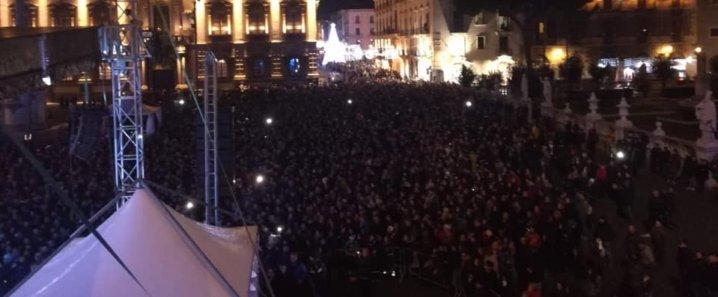 Capodanno Catania, buona la prima