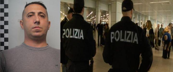 Arrestato al suo arrivo a Fontanarossa