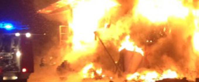 Nicolosi, incendia la villa della moglie per gelosia$