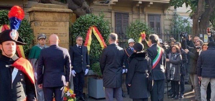 Palermo, Mattarella 39 anni dopo