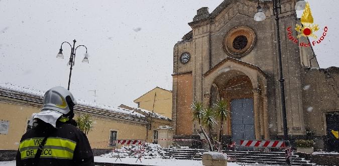 Giornata glaciale in tutta la Sicilia