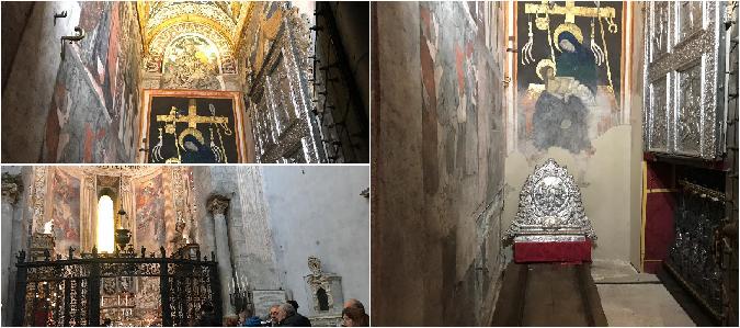 Ecco Sant'Agata: aperto il sacello