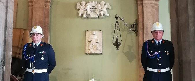 Restaurato il bassorilievo di Sant'Agata