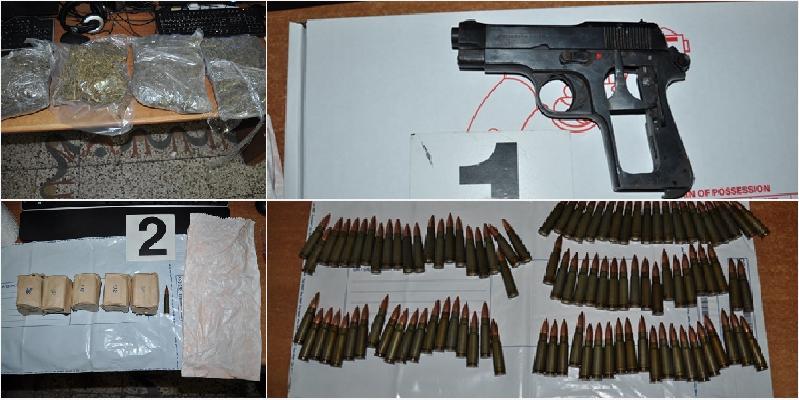 Armi e droga in un tombino a Misterbianco