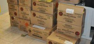 Festa di Sant'Agata col botto: sequestrata mezza tonnellata di fuochi