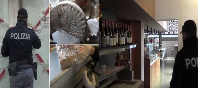 Cibi scaduti: chiusi 3 ristoranti a Catania