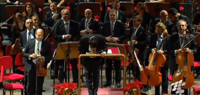 Il concerto al Bellini: LA DIRETTA