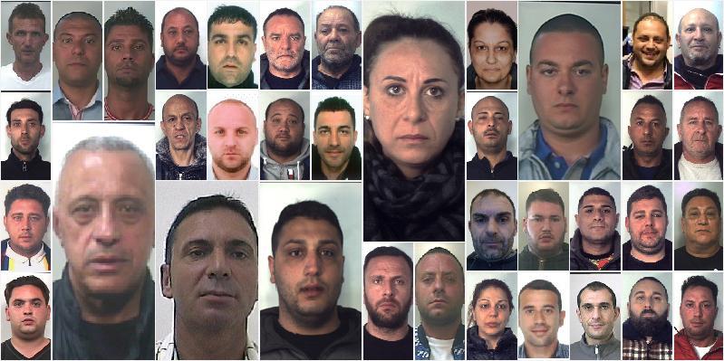 Presi i grossisti della droga a Catania: 38 arresti, canali con la 'ndrangheta