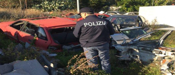 """""""Oro rosso"""", sequestrata officina a Mascali"""