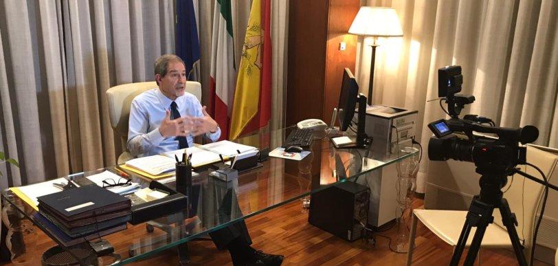 """Musumeci: """"Adesso stop alle speculazioni. La Sicilia è sicura, non chiudiamo nulla"""""""