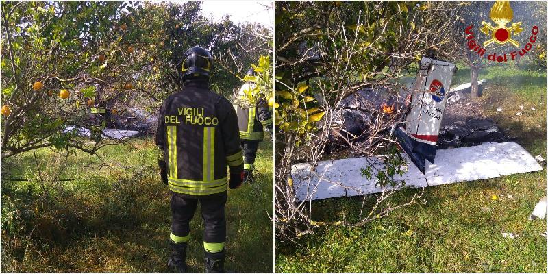 Bologna, precipita un ultraleggero: morto il pilota