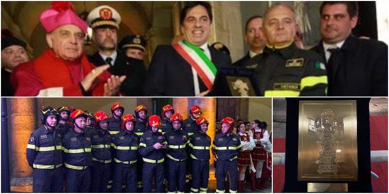 Tutti in piedi per i pompieri