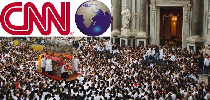 La festa di Sant'Agata raccontata dalla Cnn