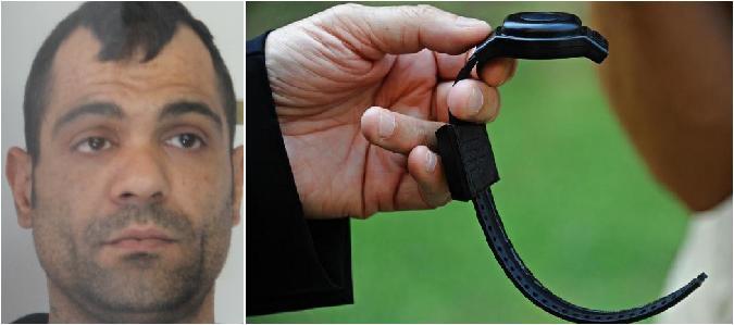 Stacca braccialetto elettronico: va in carcere