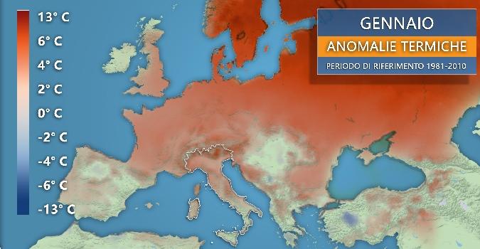 E' stato il gennaio più caldo della storia: e ora torna l'anticiclone mangia-inverno