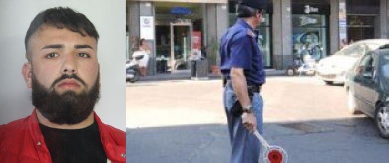 Catania, sbatte a terra poliziotto: preso