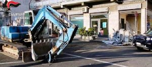 Spaccata in banca sventata dai carabinieri