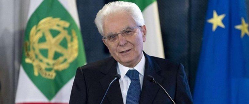 """Il messaggio di Mattarella: """"Concordia e unità d'intenti"""""""