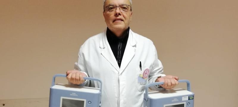 Coronavirus, donati 2 ventilatori all'ospedale di Modica
