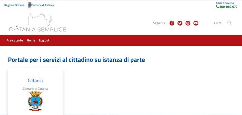 Catania semplice: Comune a portata di clic