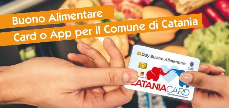 Catania, un'app per usare il buono spesa