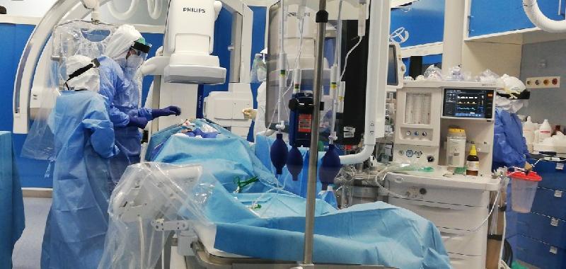 Da sospetto Covid all'emorragia cerebrale: salvata catanese di 68 anni al Cannizzaro