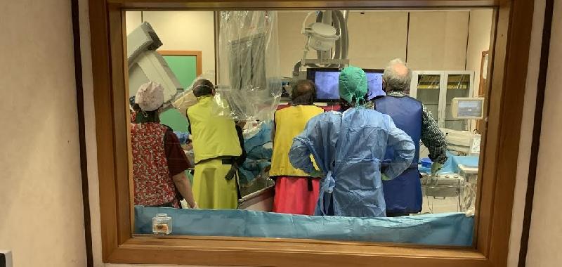 Palermo, 100% infarti trattati con angioplastica nonostante Covid-19