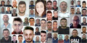 Decapitato il clan Brunetto: 46 gli arrestati