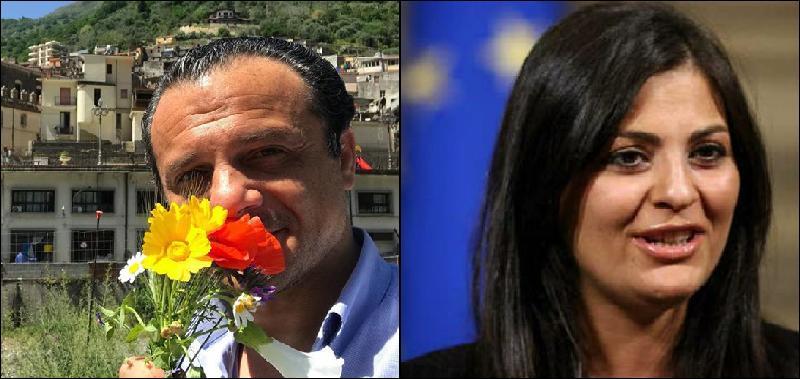 """De Luca vuole il passaporto per innamorati. La Santelli: """"Dipende da don Rodrigo Conte"""""""